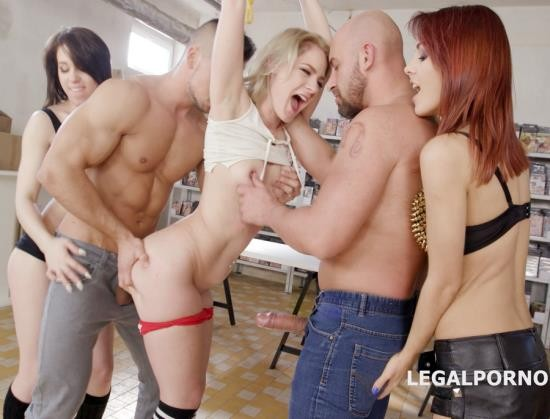 LegalPorno - Dominica Phoenix, Monika Wild, Lisey Sweet - Outnumbered Both Ways 1 With Lisey Sweet, Monika Wild, Dominica Phoenix, Farts, Gapes, Anal Fist, DAP, Cum Fantasy GIO581 (FullHD/3.87 GB)