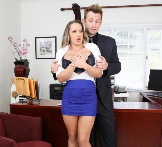 Blackmailed - Cali Carter - Pervy Boss Blackmails Slutty Secretary (FullHD/3.01 GiB)