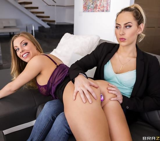 HotAndMean/BraZZers - Britney Amber, Carter Cruise - Confessions Of A Buttaholic (FullHD/1.50 GB)