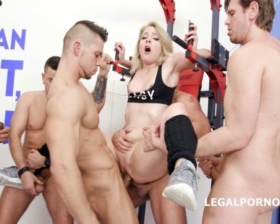 LegalPorno - Lisey Sweet - 7 On 1 DAP Gangbang With Lisey Sweet Balls Deep Anal, DAP, Gapes, TP, Facial GIO588 (HD/1.81 GB)