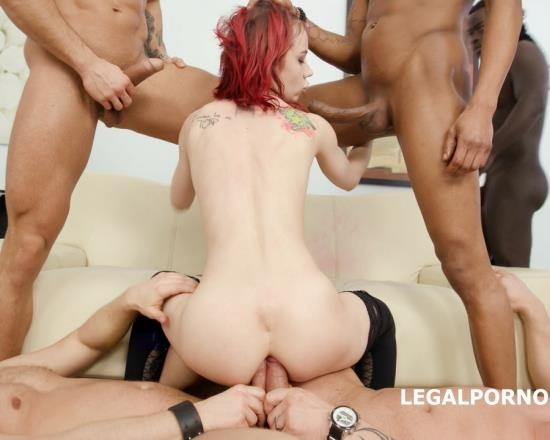 LegalPorno - Kira Roller - 6 On 1 Piss Gangbang With Kira Roller Balls Deep Anal, DAP, Gapes, Pee Drink, Crempie To Glass, Swallow GIO562 (UltraHD/13.6 GB)