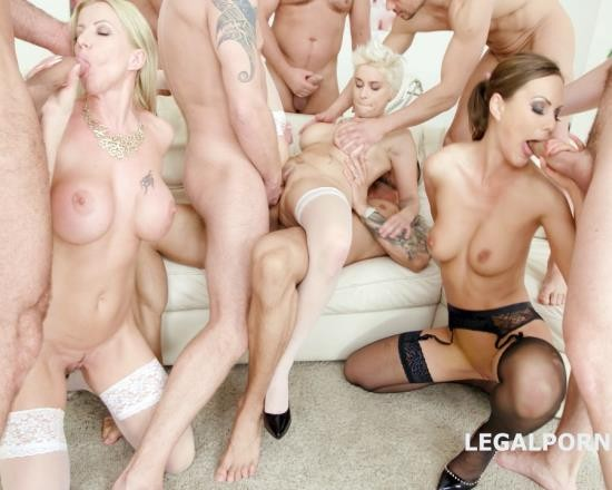 LegalPorno - Tina Kay, Mila Milan, Lara De Santis - Outnumbered Both Ways Part 2 With Tina Kay, Mila Milan, Lara De Santis 7 On 3 Multiple Dap, ATOGM, Anal Fisting GIO648 (FullHD/4.94 GB)
