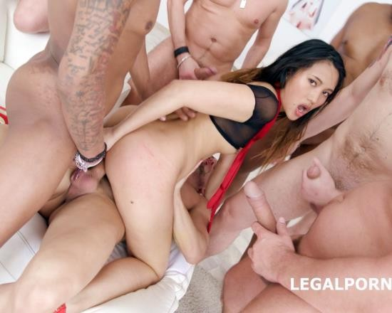 LegalPorno - May Thai - Facialized 10 On 1 DAP Gangbang May Thai Gets Balls Deep Anal, DAP, TP, Facial GIO644 (HD/2.04 GB)