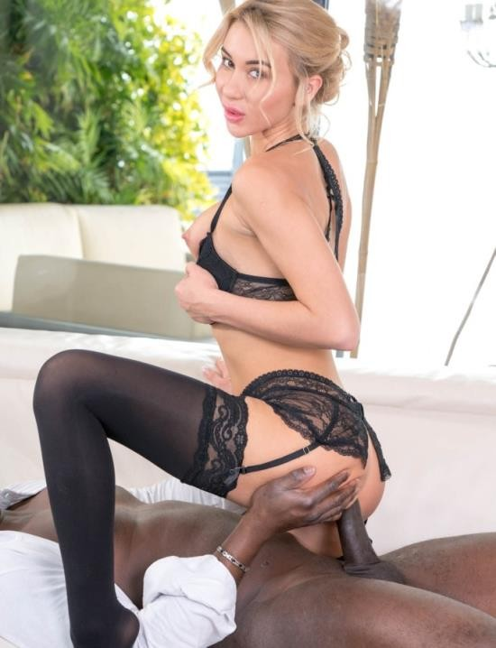 Private - Katrin Tequila - Wears Lingerie During Interracial Anal (HD/1.24 GiB)