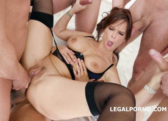 LegalPorno - Syren De Mer - 7 On 1 DAP Gangbang With Syren De Mer Balls Deep Anal And DAP, Gapes, Squirt, Facial GIO642 (HD/2.03 GB)