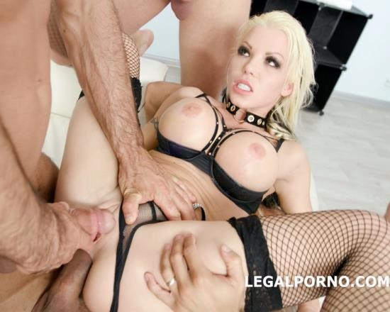 LegalPorno - Barbie Sins - GIO666 The Number Of The Pee. Welcome To LP For Barbie Sins 4 On 1 Balls Deep Anal, DP, Pee, Swallow GIO666 (HD/1.96 GB)