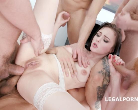 LegalPorno - Kiara Gold - Kiara Gold 5 On 1 DAP, TP, TAP Session With Balls Deep, Creampie To Glass To Swallow GIO625 (HD/1.74 GB)