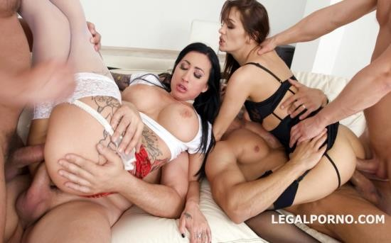 LegalPorno - Dominica Phoenix, Lily Lane - Double Addicted With Anal Fisting Lily Lane And Dominica Phoenix Balls Deep Anal, DAP, Gapes, Fisting GIO660 (FullHD/4.41 GB)