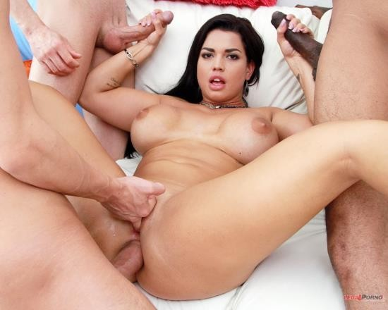 LegalPorno - Chloe Lamour - Busty Slut Chloe Lamour Receives Rough Fucking And Double Penetration From Four Huge Cocks SZ1979 (FullHD/4.30 GB)