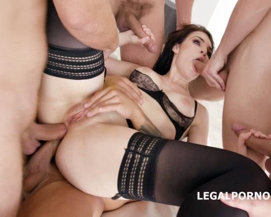 LegalPorno - Hannah Vivienne - DAP Destination With Hanna Vivienne Balls Deep Anal, First DAP, Gapes, Swallow GIO681 (HD/1.48 GB)
