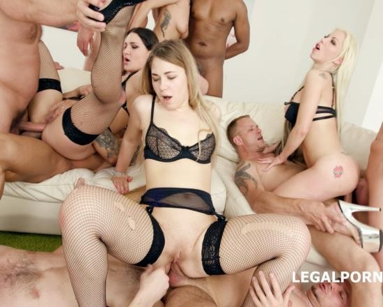 LegalPorno - Selvaggia, Ellen Betsy, Barbie Sins - One Two Three And More Part 2 Barbie Sins, Selvaggia And Ellen Betsy Getting Balls Deep Anal, DAP Squirt, Cumshot Fantasy GIO670 (FullHD/4.70 GB)