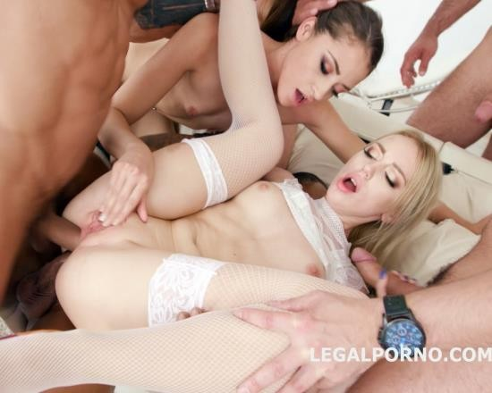LegalPorno - Kira Thorn, Avi Love - Kira Thorn First Anal Fisting Supported By Avi Love With ATOGM, Balls Deep Anal, DAP, Big Gapes, Swallow GIO677 (FullHD/4.56 GB)