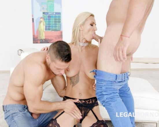 LegalPorno - Alina Long - Double Anal Creampies Alina Long Gets Anal, DP, First DAP And Creampie GL018 (UltraHD/9.04 GB)