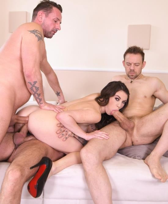 HandsonHardcore/DDFNetwork - Tiffany Doll - Tight Pussy Fucked By Three (FullHD/1.48 GiB)
