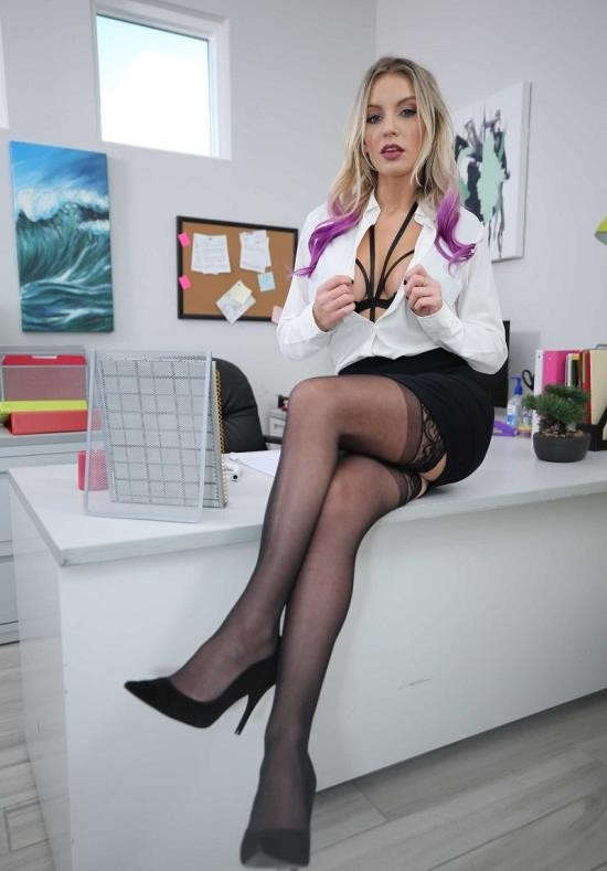 NaughtyAmerica - Kenzie Taylor - Gets Fucked In The Office (HD/720p/1.39 GB)