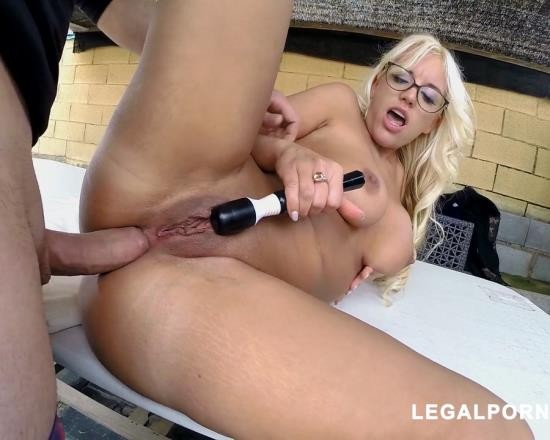 LegalPorno - Blondie Fesser - Doing Anal With Blondie Fessers Huge Ass MA066 (HD/1.94 GB)