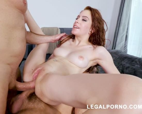 LegalPorno - Anna De Ville - American Slut Anna De Ville Gets DAPd And Annihilated By John Strong And Steve Holmes AB002 (UltraHD/8.14 GB)