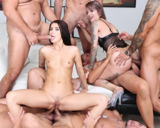 LegalPorno - Nicole Black, Sammie Six - Addicted To Anal 2 Nicole Black And Sammie Six 6 On 2 Balls Deep Anal, Gapes, ATOGM, DAP, Cumswapping With Swallow GIO1203 (HD/1.66 GB)