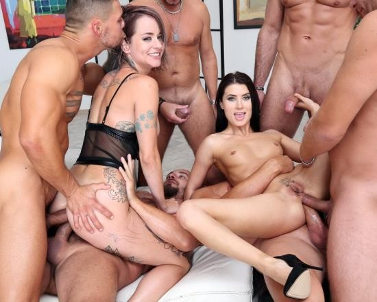 LegalPorno - Nicole Black, Sammie Six - Addicted To Anal 2 Nicole Black And Sammie Six 6 On 2 Balls Deep Anal, Gapes, ATOGM, DAP, Cumswapping With Swallow GIO1203 (FullHD/4.31 GB)