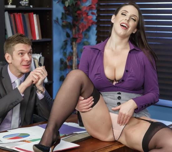 BigTitsAtWork/Brazzers - Angela White - My Slutty Secretary (FullHD/1080p/3.02 GB)
