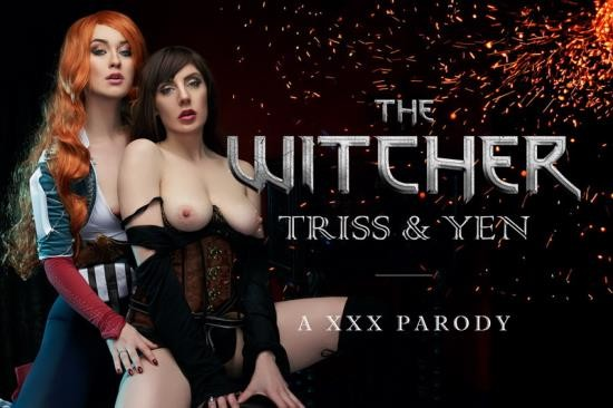 vrcosplayx - Misha Cross, Samantha Bentley - The Witcher: Yen, Triss A XXX Parody (UltraHD/2K/1440p/3.37 GB)