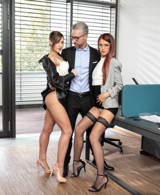 AnalIntroductions/Private - Cindy Shine, Mina K - Anal Threesome at the Office (FullHD/1080p/2.13 GiB)