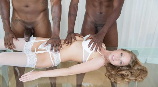 Blacked - Shawna Lenee - Blonde Personal Assistant Loves Black Men (FullHD/1080p/3.10 GB)