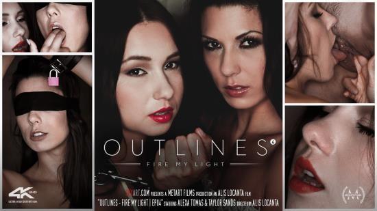 SexArt/MetArt - Alexa Tomas, Taylor Sands - Outlines Episode 4 - Fire My Light (FullHD/1080p/438 MB)