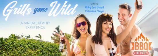 VRBangers - Abby Lee Brazil, Valentina Nappi - Grills Gone Wild! (UltraHD 2K/1440p/3.67 GB)
