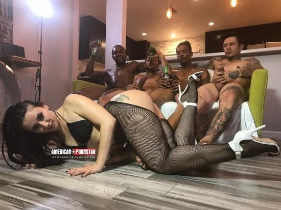 American-Pornstar - Mandy Muse - Behind The Fucking Scenes Mandy Muse (FullHD/1080p/1.71 GB)