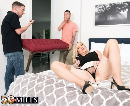 ScoreHD/50PlusMilfs - Lena Lewis - Lena gets ass-fucked by her neighbors (FullHD/1080p/1.26 GB)