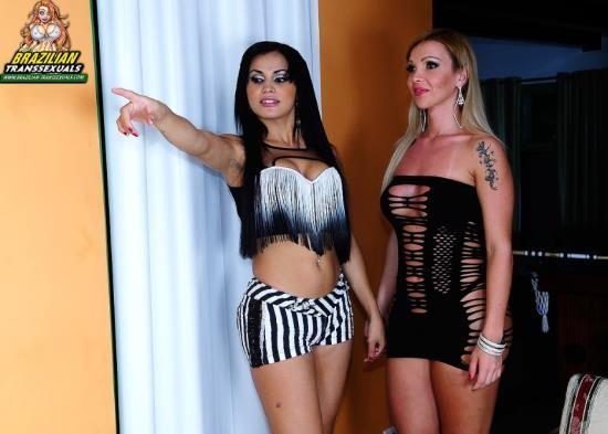 Brazilian-Transsexuals - Carla Novaes, Bruna Butterfly - HARDCORE (HD/720p/951 MB)