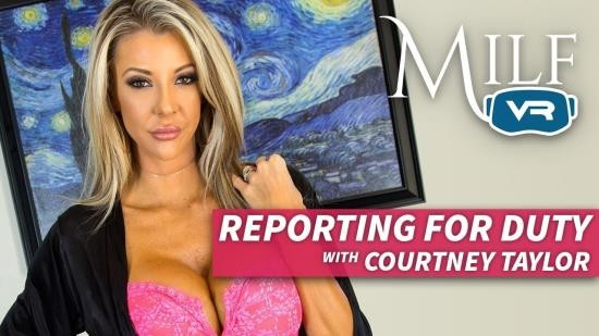 MilfVR - Courtney Taylor - Reporting for duty (UltraHD/2K/1600p/5.04 GB)