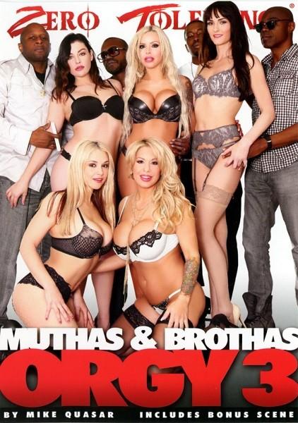 Muthas & Bruthas (Brothas) Orgy 3 (HD/2.33 GB)