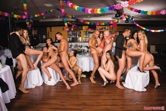 Private - Black Angelika, Simony Diamond, Lucy Belle And Many More - New Years Orgy With (FullHD/1080p/1.06 GB)