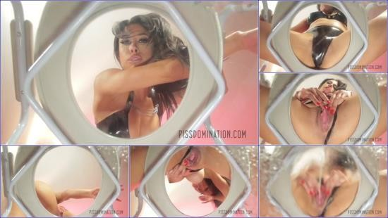 PissDomination - Mistress Tangent - Mistress Tangent Quenches Her Piss Slave Thirst (FullHD/1080p/371 MB)