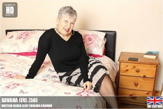 mature.nl / mature.eu - Savana (56) - British Older Lady Fooling Around (HD/720p/910 MB)