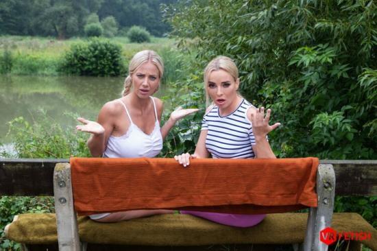CzechVRFetish - Emma Button, Natalie Cherie - A Wet Encounter (UltraHD 2K/1440p/2.51 GB)