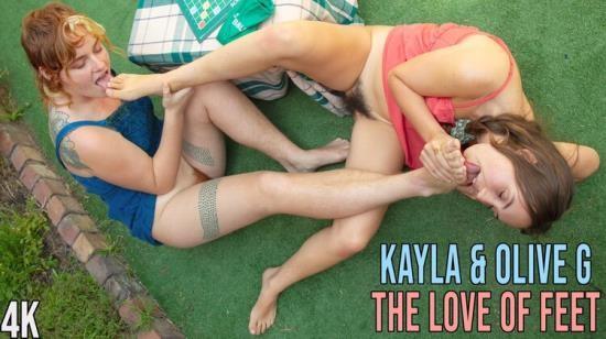 GirlsOutWest - Kayla Rain, Olive G. - The Love of Feet (FullHD/1080p/1.22 GB)