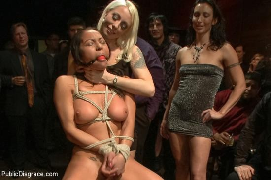 PublicDisgrace/Kink - Adrianna Luna, Lorelei Lee - Big Booty Latina Tied and Fucked at Party (HD/720p/729 MB)