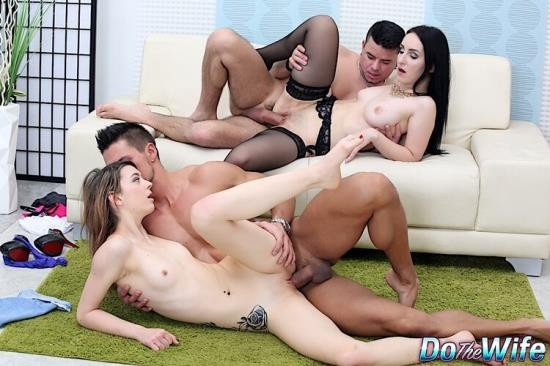 DoTheWife - Di Devi, Tera Link - Group Sex Is the Best Sex (HD/1076p/1.37 GB)