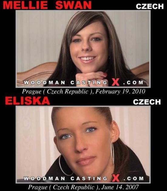 PierreWoodman/WoodmanCastingX - Mellie Swan Eliska - Casting (HD/720p/947 MB)