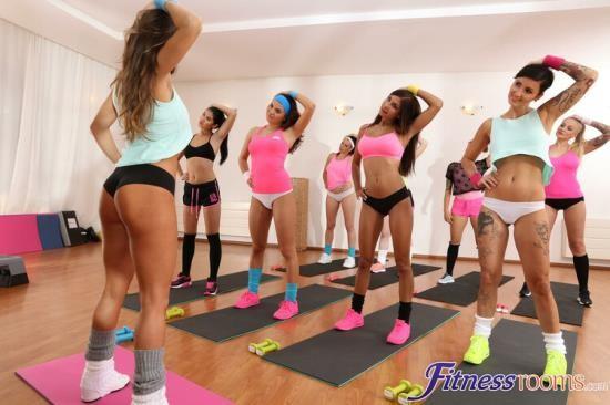 FitnessRooms - Lady Dee, Nikita Ricci, Vanessa Decker - Post gym workout lesbian threesome (FullHD/1080p/1.17 GB)