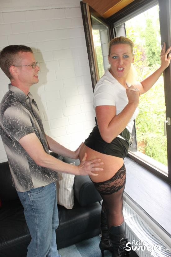 ReifeSwinger/PornDoePremium - PD Tanja - Mature German blondie Tanja gets cum on ass in dirty hard fuck (HD/720p/391 MB)