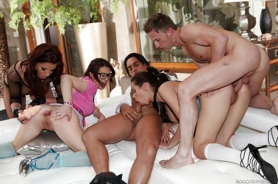 Roccosiffredi - Angel Rivas, Ferrera Gomez, Tiffany Doll - Rocco World, Scene 02 (HD/720p/951 MB)