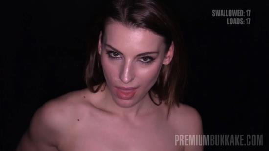 PremiumBukkake - Victoria Daniels - Gloryhole (HD/720p/1.31 GB)
