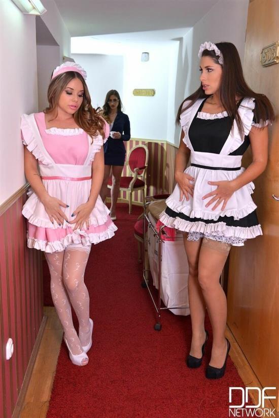 EuroGirlsOnGirls/DDFNetwork - Rachele Richey and Zafira and Cathy Heaven - Hardcore (FullHD/1080p/2.19 GB)