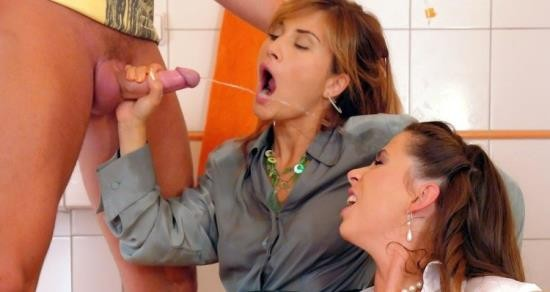 PissingInAction/Tainster - Pepper, Tatiana Milovani - The Pink Firehose Douses These Ho's! (SD/540p/546 MB)