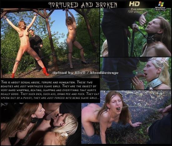 SubspaceLand/FunnyBDSM - Olga Barz - Tortured and Broken (HD/720p/777 MB)