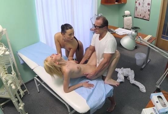 FakeHospital - Amateur - Doctor and nurse team up and pleasure married patient (HD/720p/856 MB)